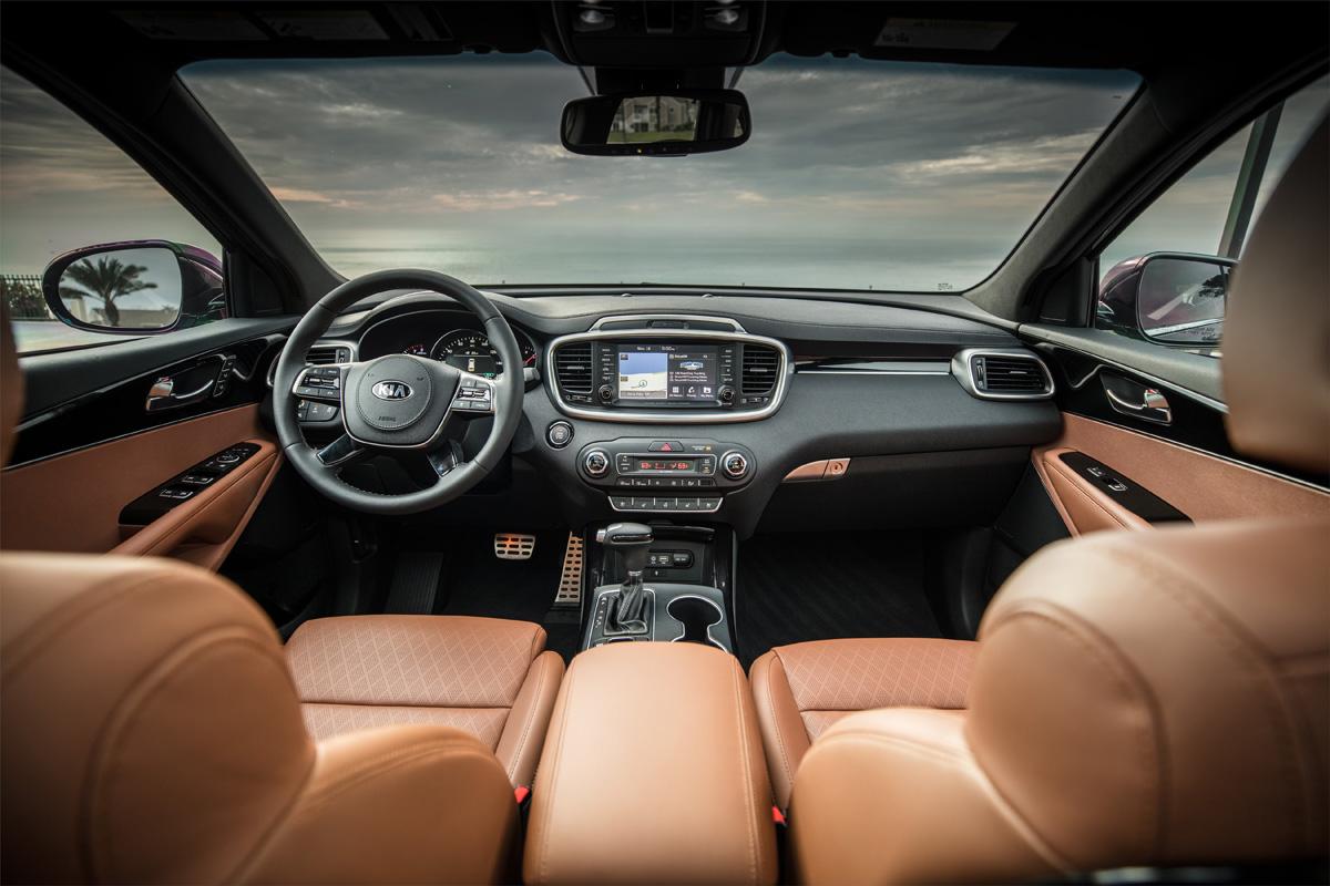 Kia Sorento Prime 2019 Interior