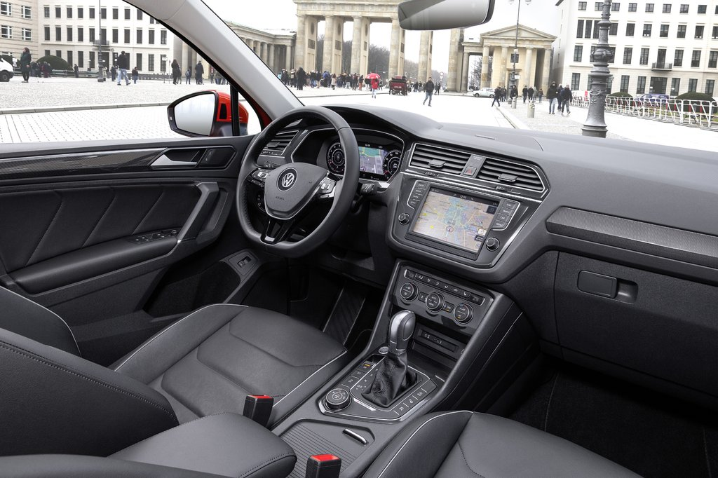 Vw tiguan 2018 interior