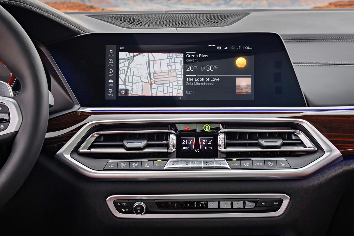BMW X5 2019 interior