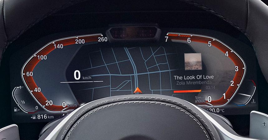 BMW X5 interior
