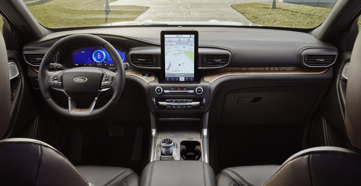 Ford Explorer 2019 interior