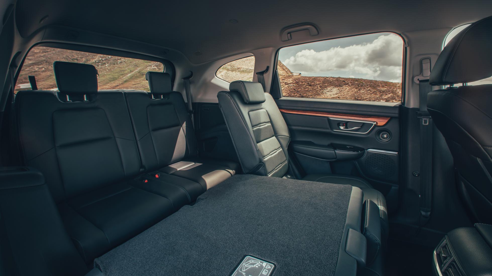 Honda CR-V 5 interior