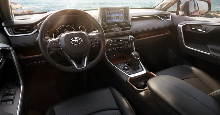 Toyota Rav 4 Interior