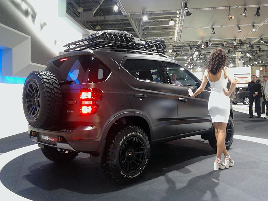 Chevrolet Niva 2018