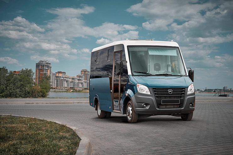Gazel Next 2018 bus