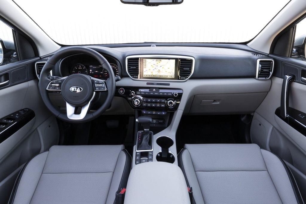Kia Sportage 2019 interior