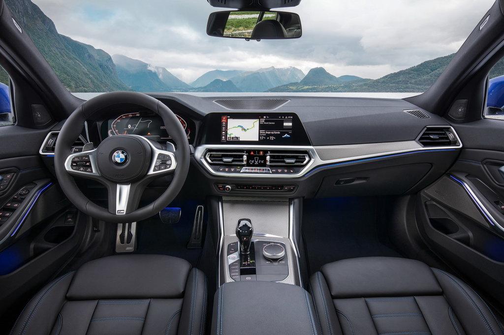 BMW 3 interior