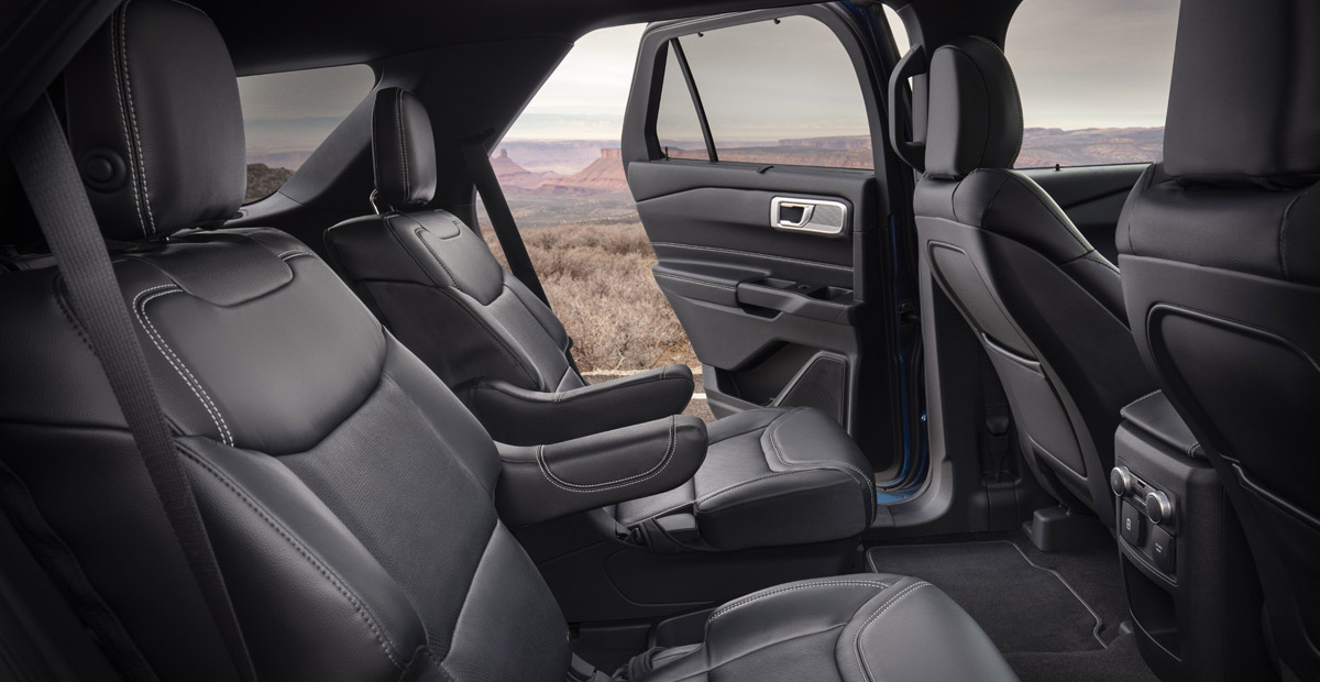 Ford Explorer 2019 interior