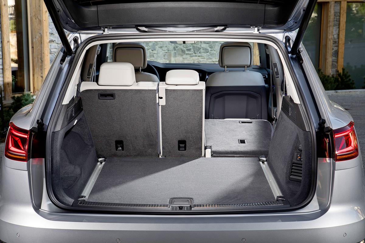 VW Toureg Interior