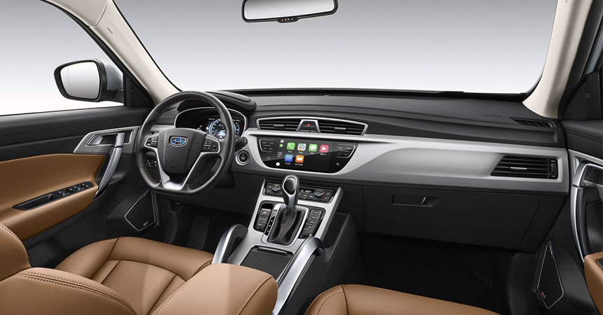 Geely Atlas interior