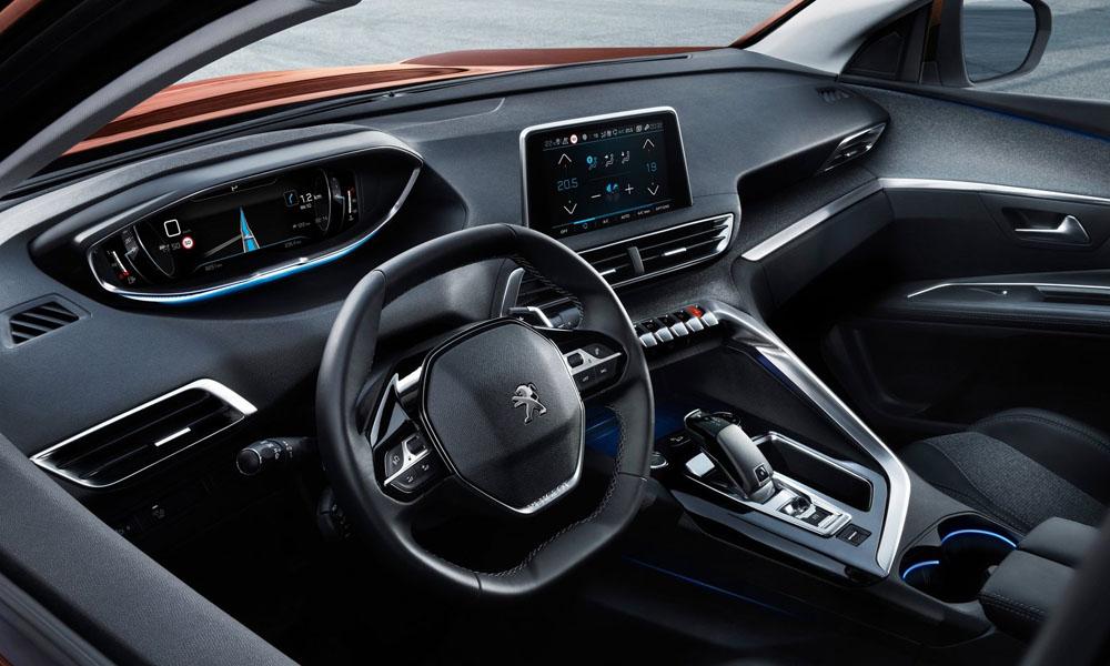 Peugeot 3008 2019 interior