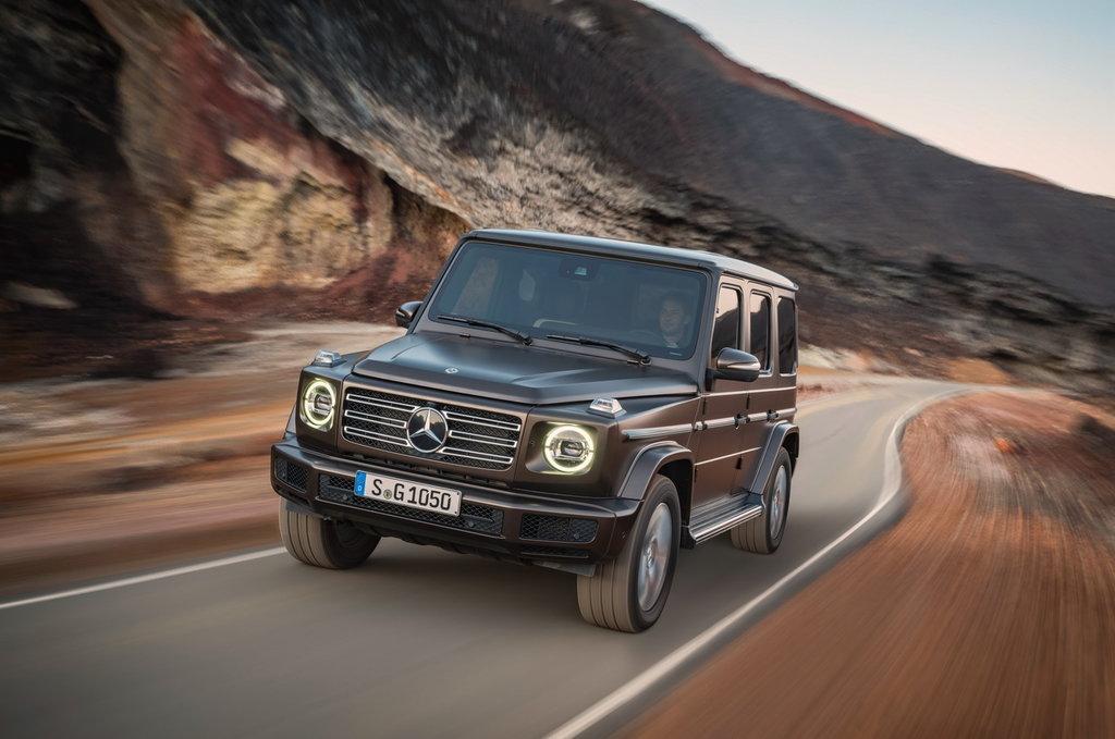 Mercedes Geländewagen 2020