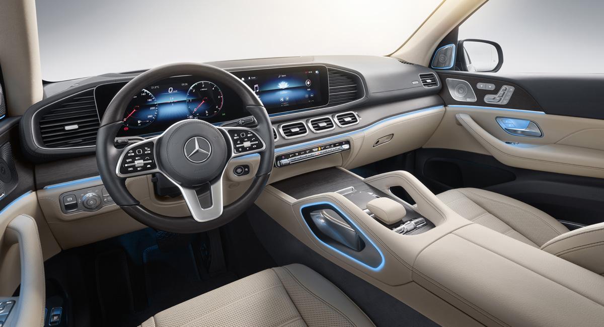 Mercedes GLS Interior