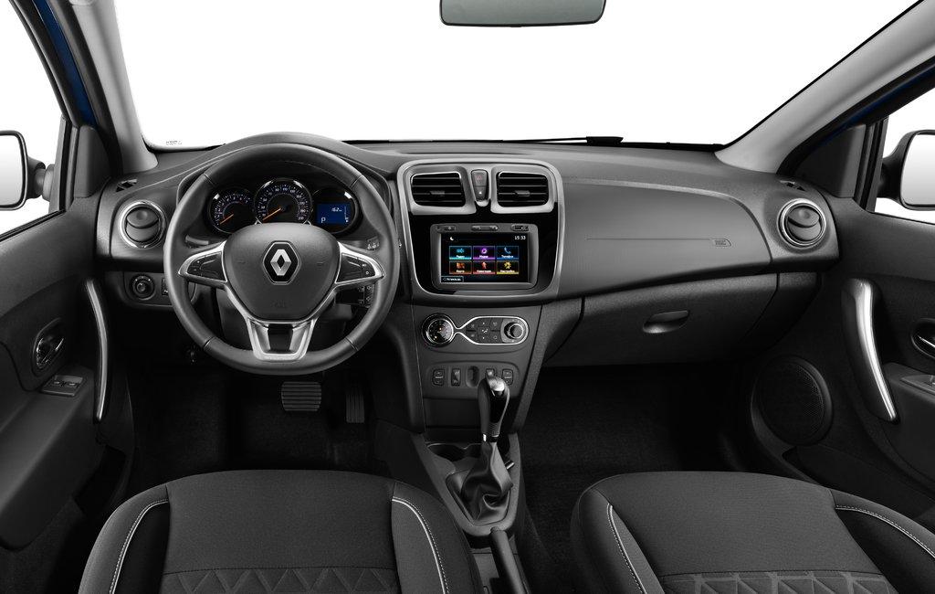 Renault Logan Stepway interior