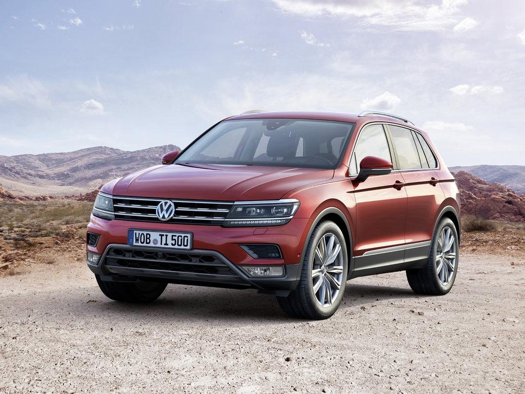 Volkswagen Tiguan 2021 комплектации и цены