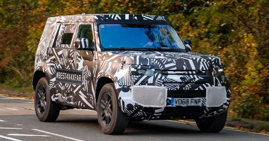 Land Rover Defender 2019-2020