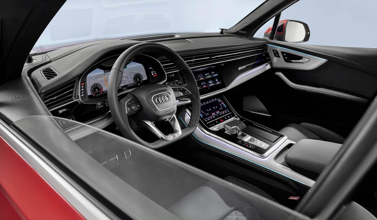 Audi Q7 2020 interior