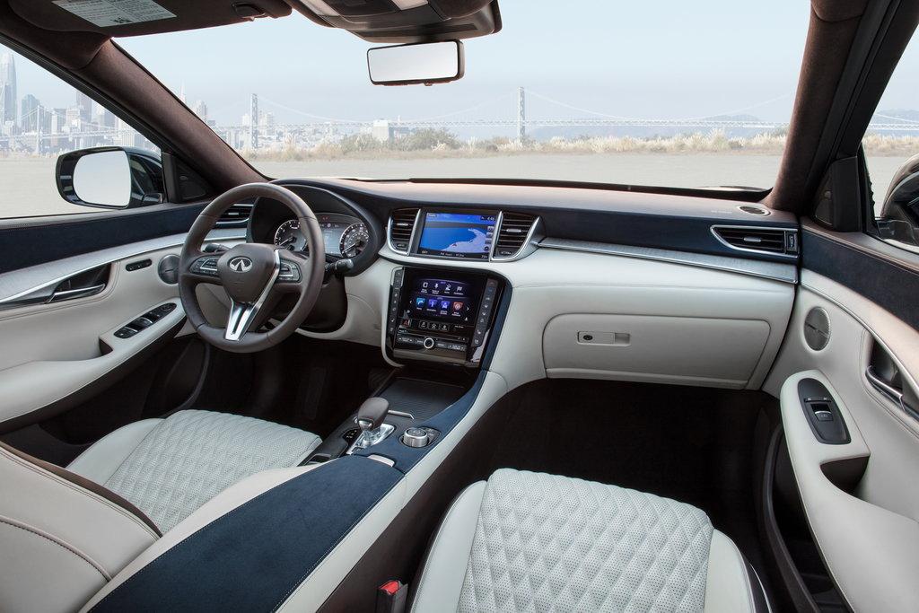 Infiniti QX50 2019 interior