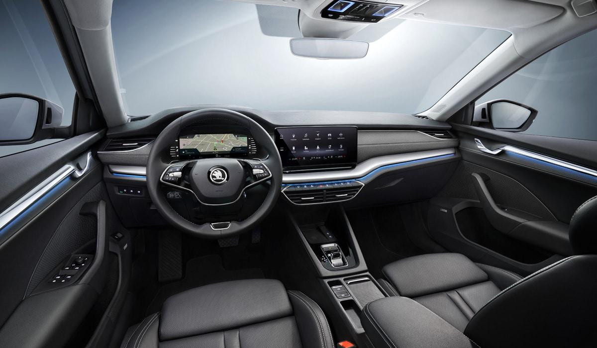 Skoda Octavia 2020 interior
