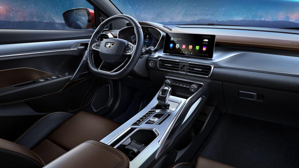 Geely SX 11 interior