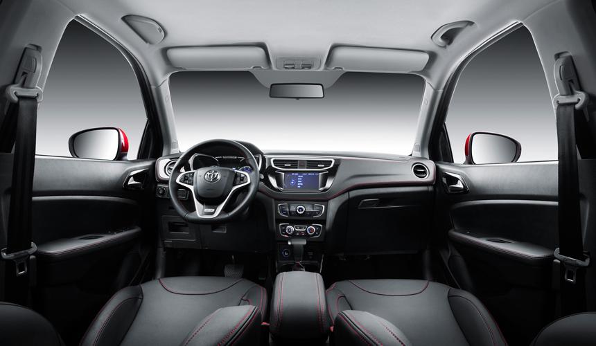 Brilliance V3 2019 interior