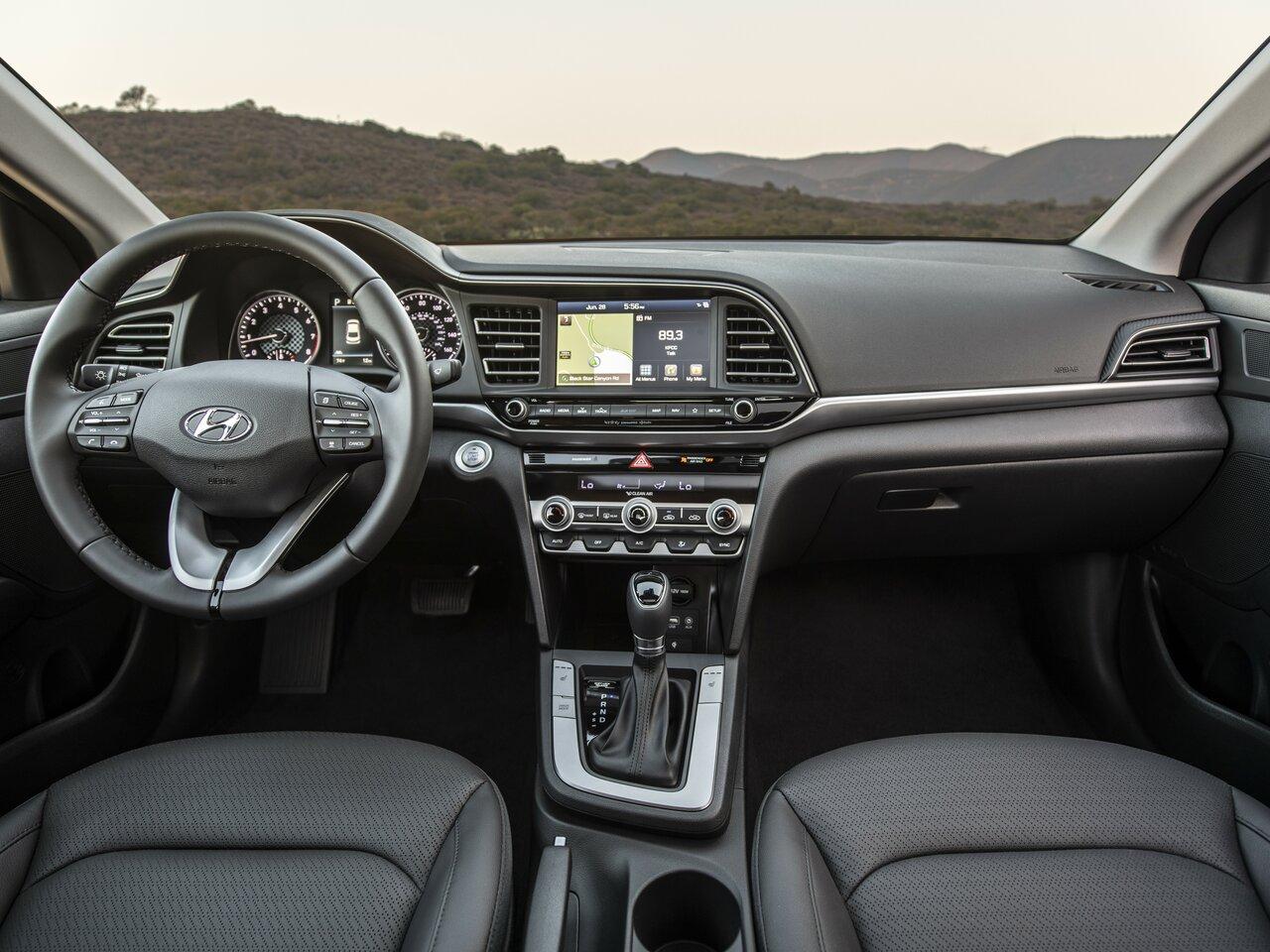 Hyundai Elantra 2020 Interior