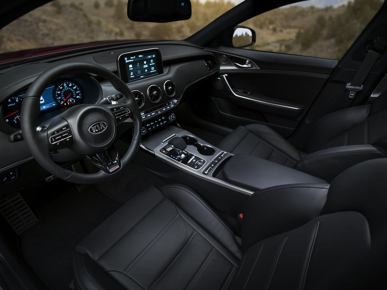 Kia Stinger 2019 Interior