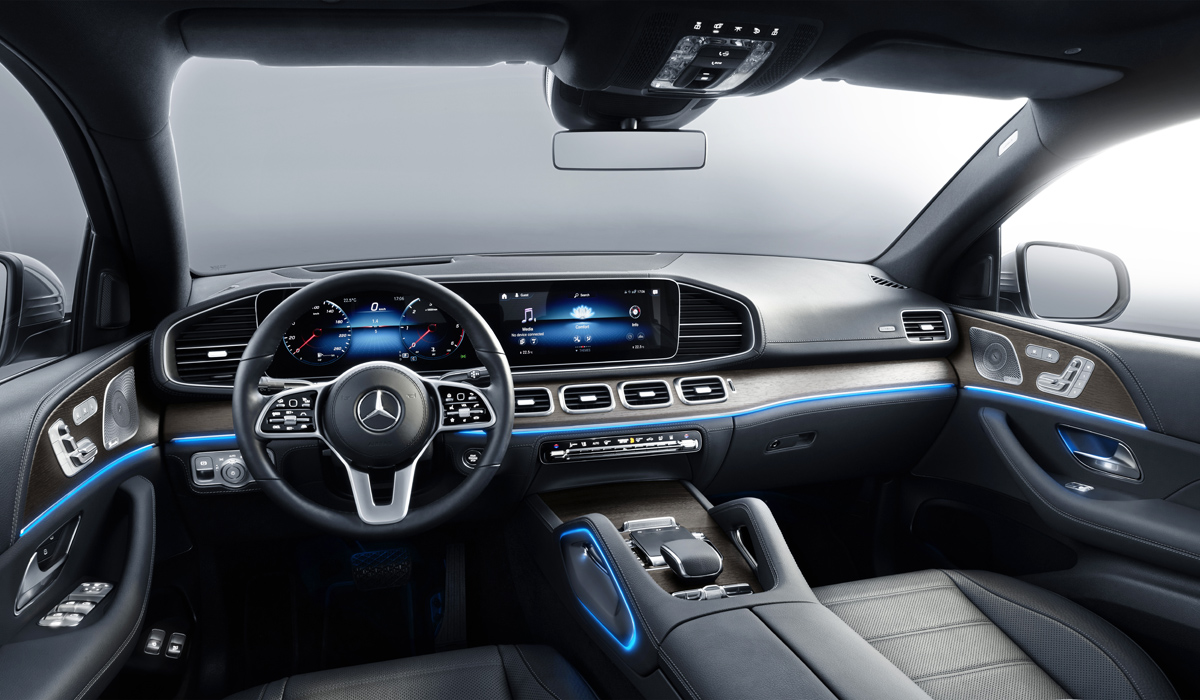 Mercedes GLE Coupe 2020 interior