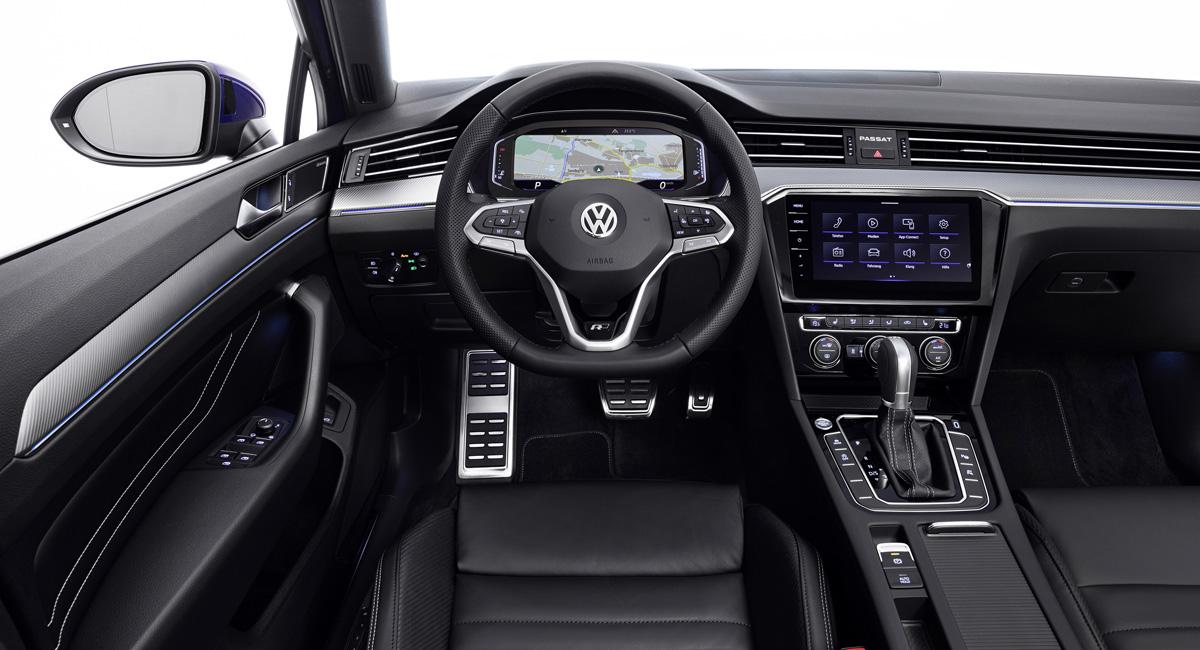 Volkswagen Passat b8 interior