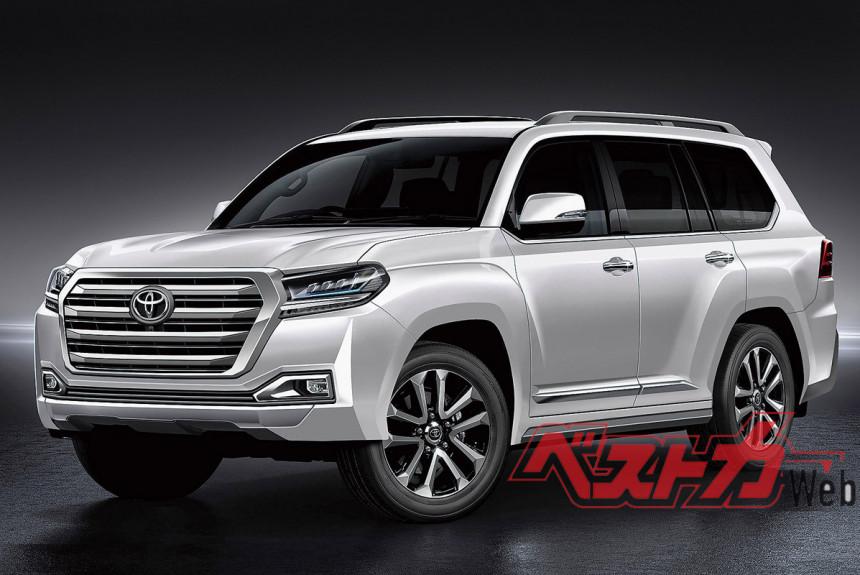 Toyota Land Cruiser 300 2021