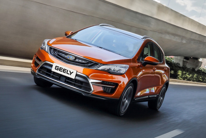 Geely Emgrand GS 2019
