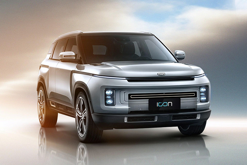 Geely Icon 2019