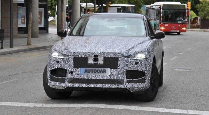 Jaguar F Pace 2020
