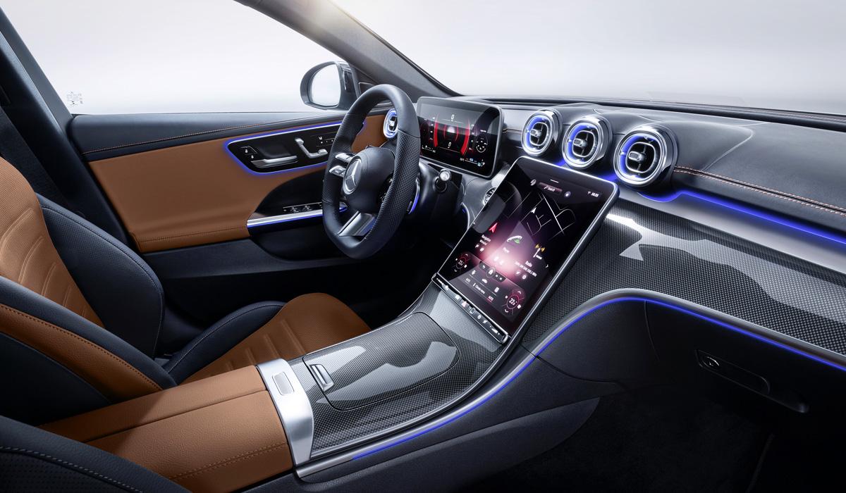 Mercedes C-класс 2021