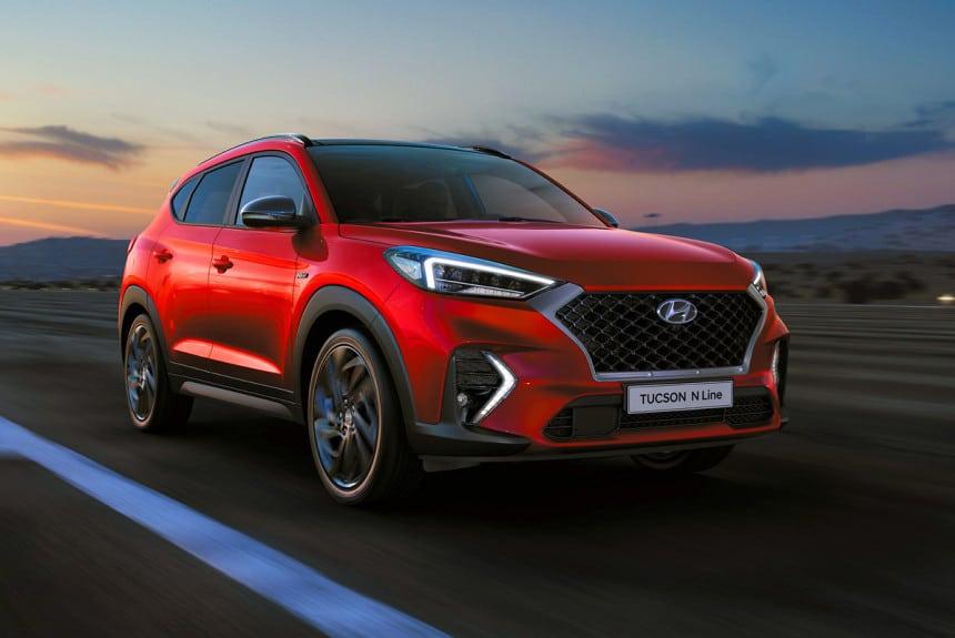 Hyundai Tucson 2020 N Line