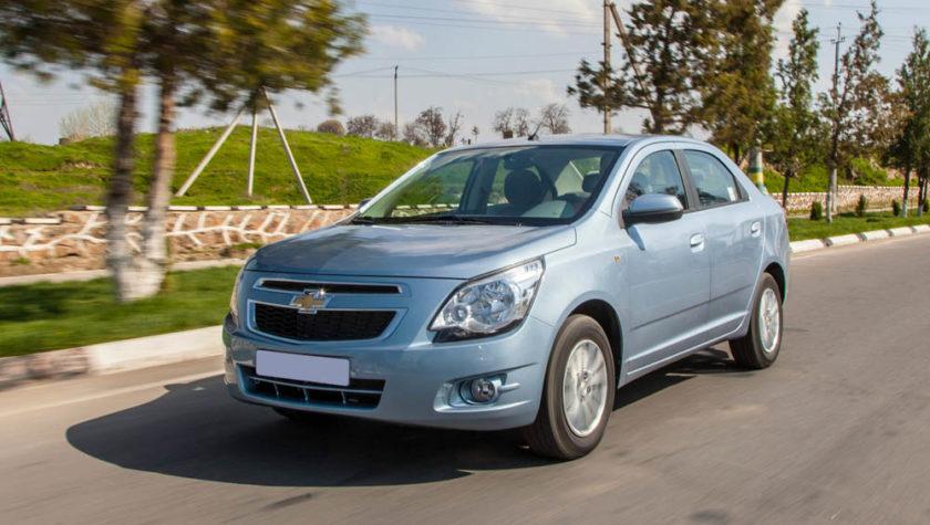 Chevrolet Cobalt 2020 года выпуска