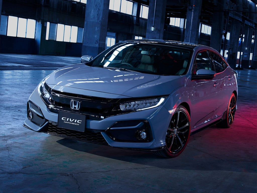 Honda Civic первая визуализация