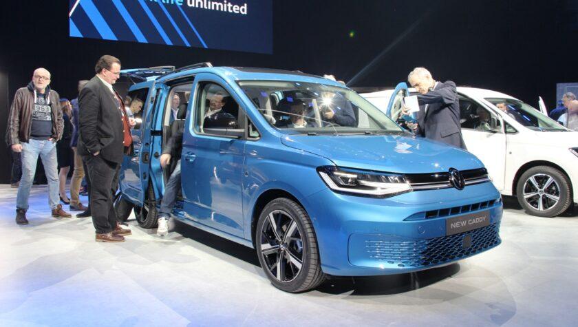 VW Caddy 2021