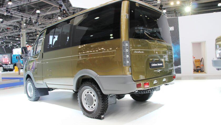 Gaz Sobol 4x4 2021