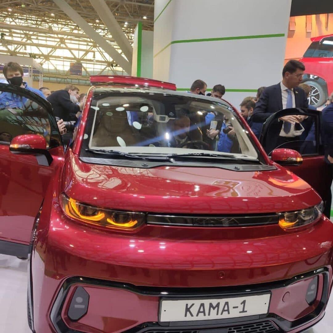 Новый российский электромобиль.