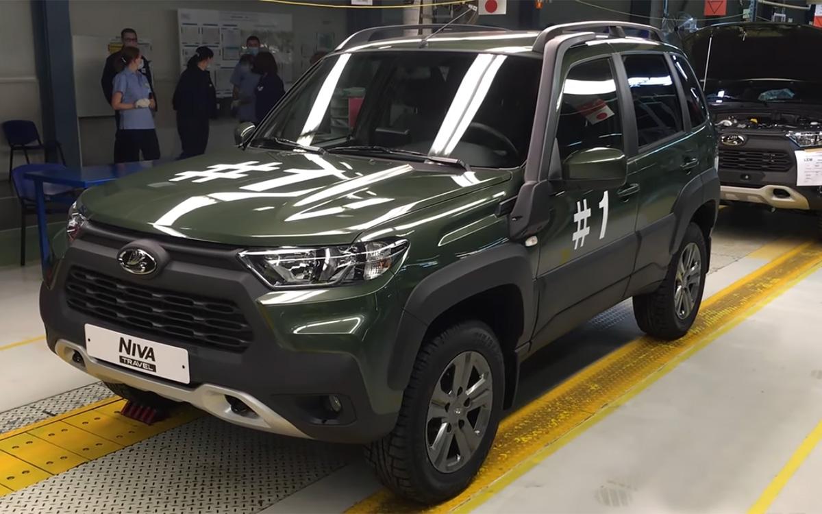 Lada Niva Travel 2021