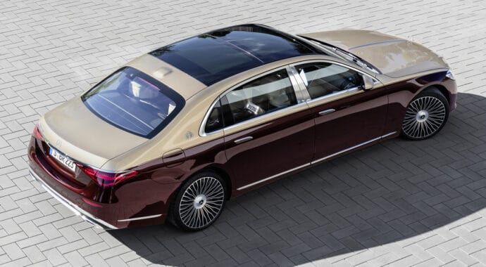 Mercedes-Maybach S Class 2021
