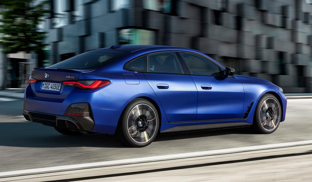 BMW i4 2021 m50