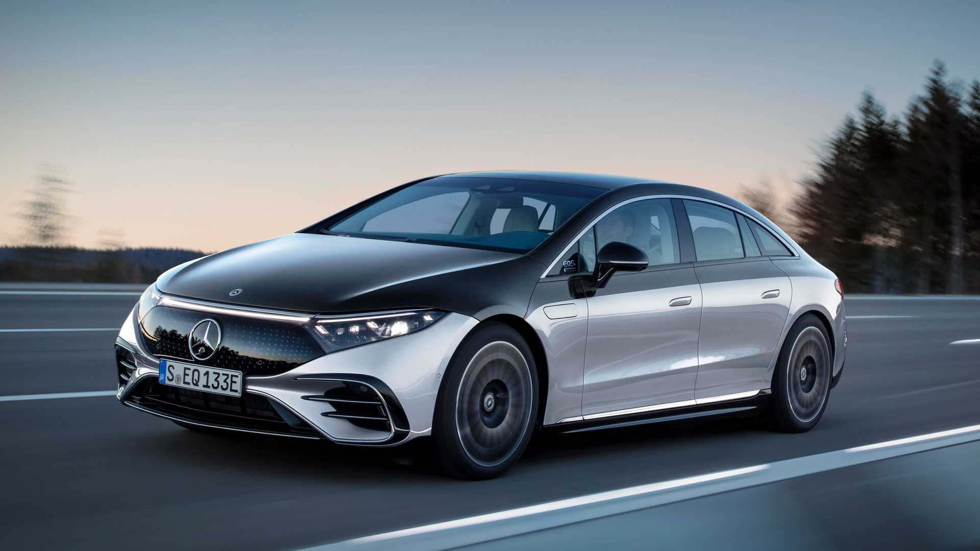 Mercedes EQS 2022