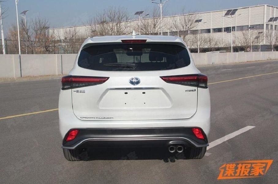 Toyota Crown Kluger 2021