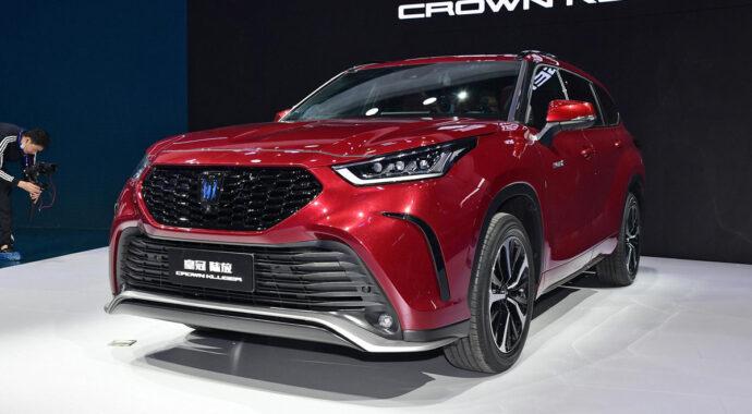 Toyota Crown Kluger 2022