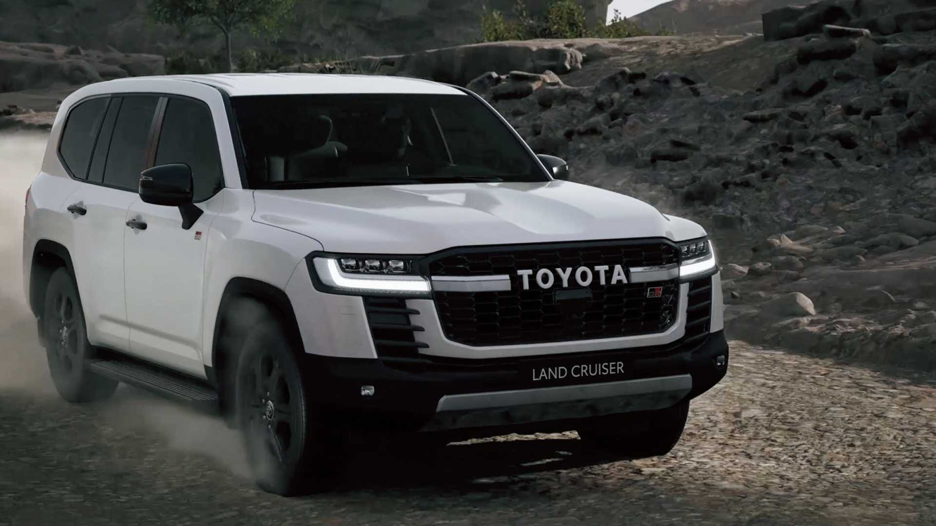 Toyota Land Cruiser 300 GR-S
