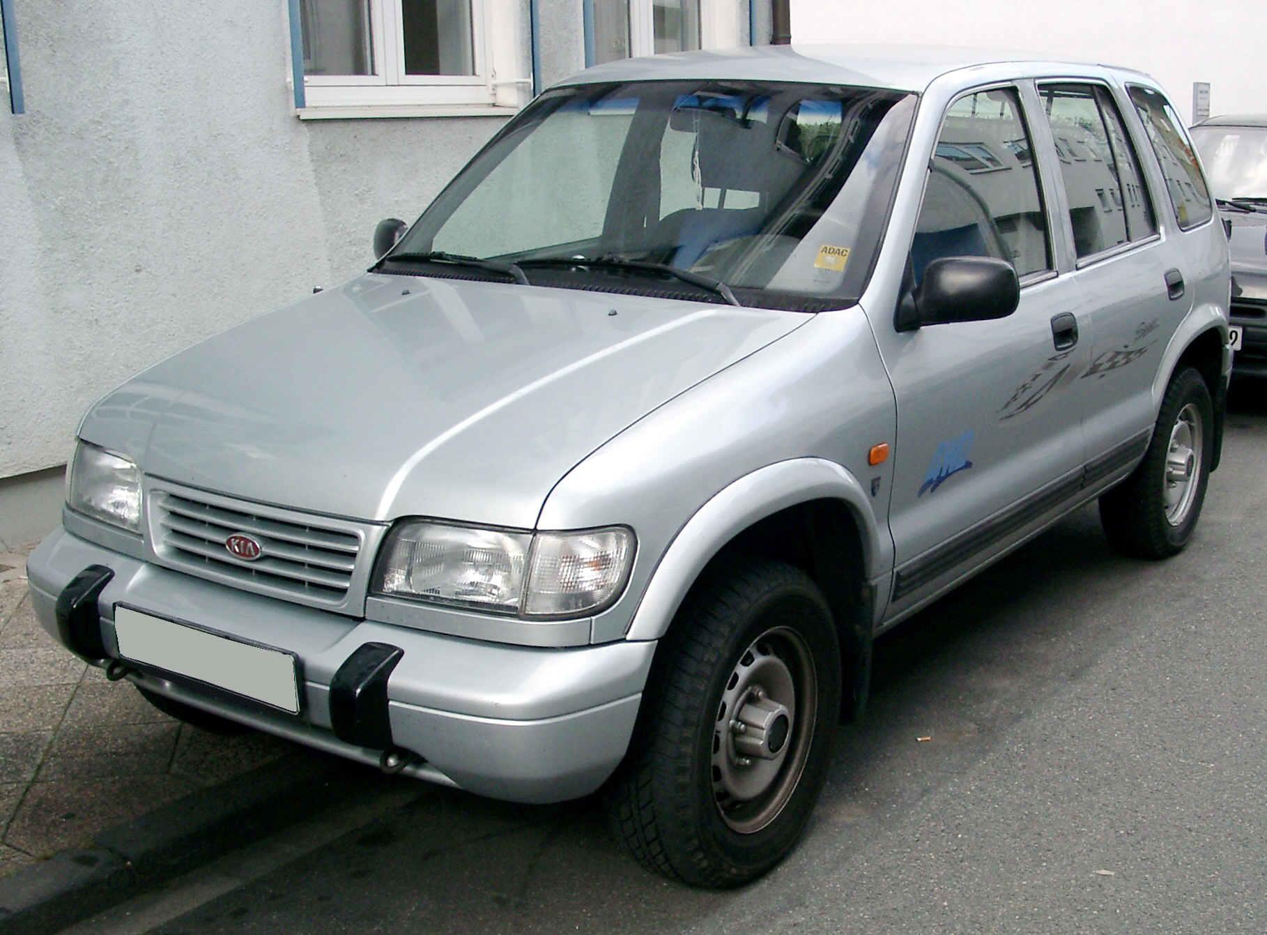 Kia Sportage первого поколения