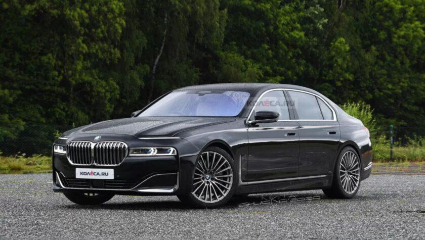 BMW 7 Series 2022