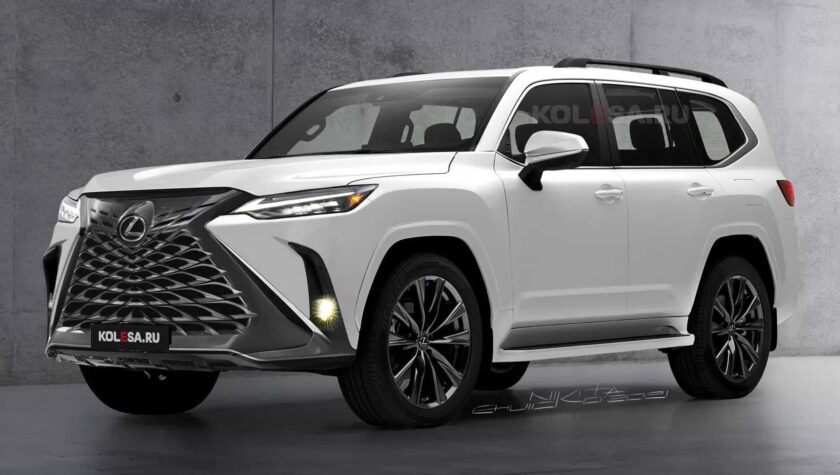 Lexus LX 2022